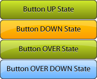Four button states in a single image